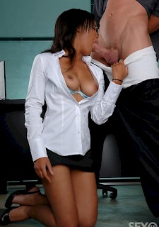 Black Hottie girl Office Hardcore fuck