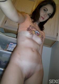 Amateur Nacktfotos Rotschopf
