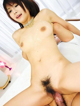 Hardcore group sex with asian babe
