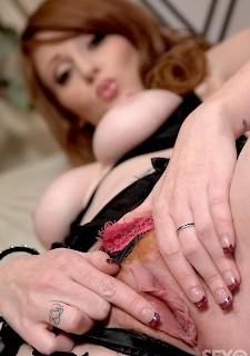 perfect redhead is ready for hardcore sex